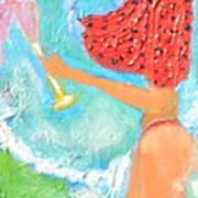 Miss Boobiair Art Print