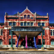 Montgomery Union Station Art Print
