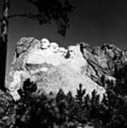 Mount Rushmore Print by Granger