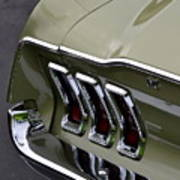 Mustang Fastback Art Print