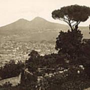 Naples: Mt. Vesuvius Art Print