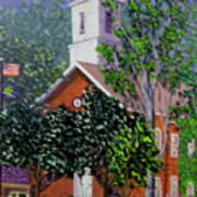 Nashville Court House Art Print