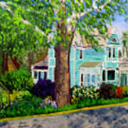 Nashville House Art Print