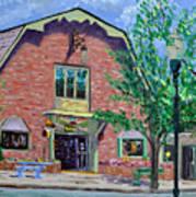 Nashville Shop IIi Art Print