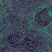 Neural Abstraction #1 Art Print