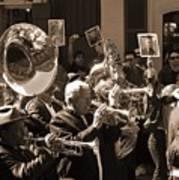 New Orleans Jazz Funeral Art Print