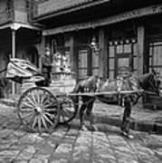 New Orleans: Milk Cart Art Print