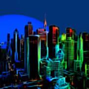 New York Colors Art Print