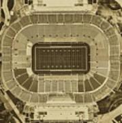 Notre Dame Stadium Art Print