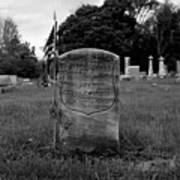 Odd Fellows Cemetery Art Print