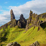 Old Man Of Storr, Isle Of Skye, Scotland Art Print