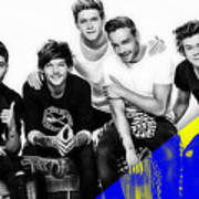 One Direction Collection Art Print