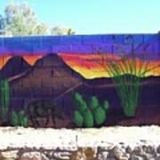 Outside Mural Art Print