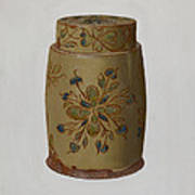 Pa. German Jar Art Print