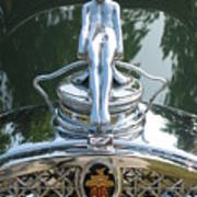 Packard Hood Ornament Art Print