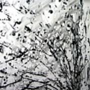Painting Noir Art Print