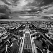 Paris Panorama Art Print