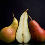 Pears Art Print by Bernard Jaubert