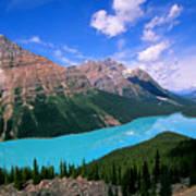 Peyto Lake, Banff National Park Art Print