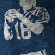 Peyton Manning Colts Art Print
