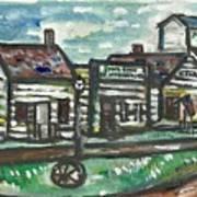 Pioneer Village Art Print