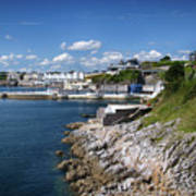 Plymouth Foreshore Art Print
