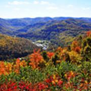 Point Mountain Overlook Art Print by Thomas R Fletcher
