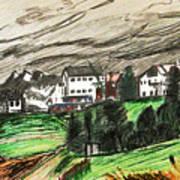 Pontresina Switzerland Art Print