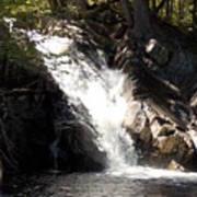 Poplar Stream Falls Art Print
