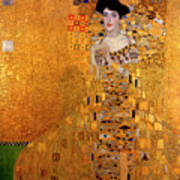 Portrait Of Adele Bloch-bauer Art Print