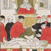 Possibly Johannes De Ketham Art Print