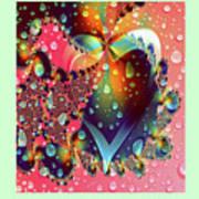 Raining In My Heart Art Print