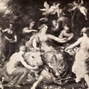 Rape Of Europa Art Print