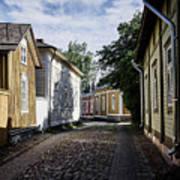 Rauma Old Town Art Print