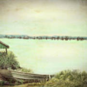 Reelfoot Lake Fishing Art Print