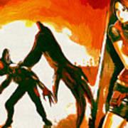 Resident Evil Art Print