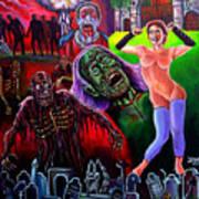 Return Of The Living Dead Art Print