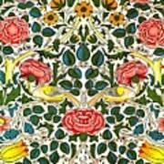 Rose Design Art Print