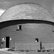 Route 66 - Round Barn Art Print
