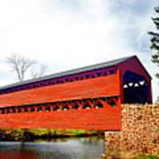 Sachs Bridge - Gettysburg Art Print