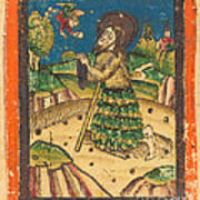 Saint Onuphrius Art Print