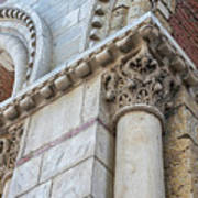 Saint Sernin Basilica Architectural Detail Art Print