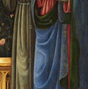Saints Francis And Mark Art Print