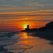 Seagrove Beach Art Print