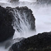 Seal Rock Waves And Rocks 4 Art Print
