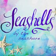 Seashells By Jan Marvin Art Print