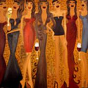 Seven Sisters Of Pleiades Art Print