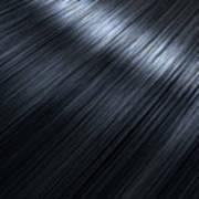 Shiny Black Hair  Art Print