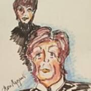 Sir Paul Mccartney Art Print