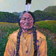 Sitting Bull Art Print